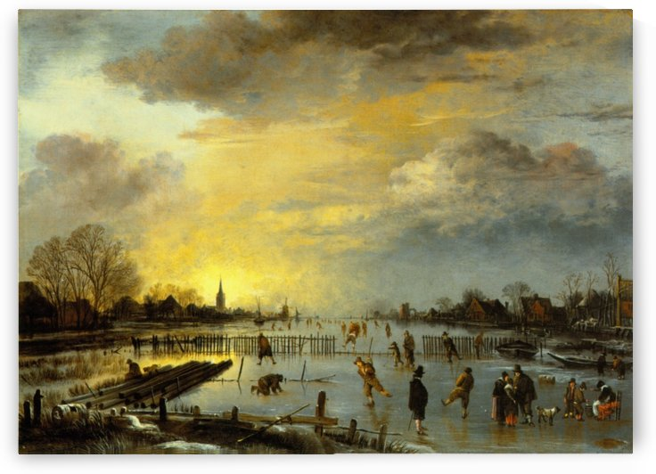 Winterlandschaft by Aert van der Neer