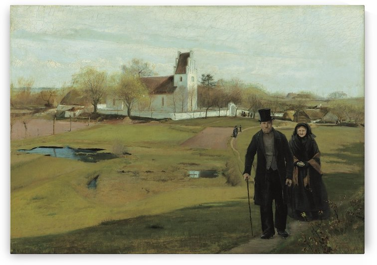Roskilde and Danishes by Laurits Andersen Ring