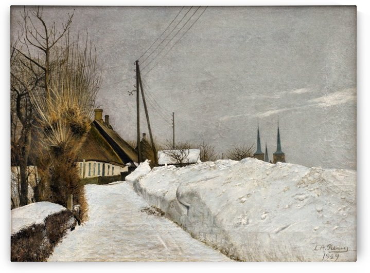 A winter day by Laurits Andersen Ring