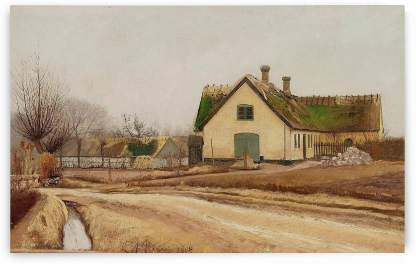 Landsbygade by Laurits Andersen Ring