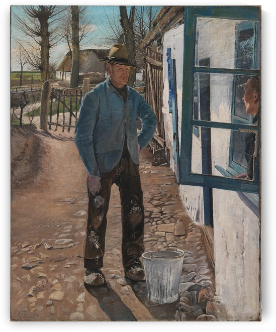 The Lime Man, the Old House is Refurbished by Laurits Andersen Ring