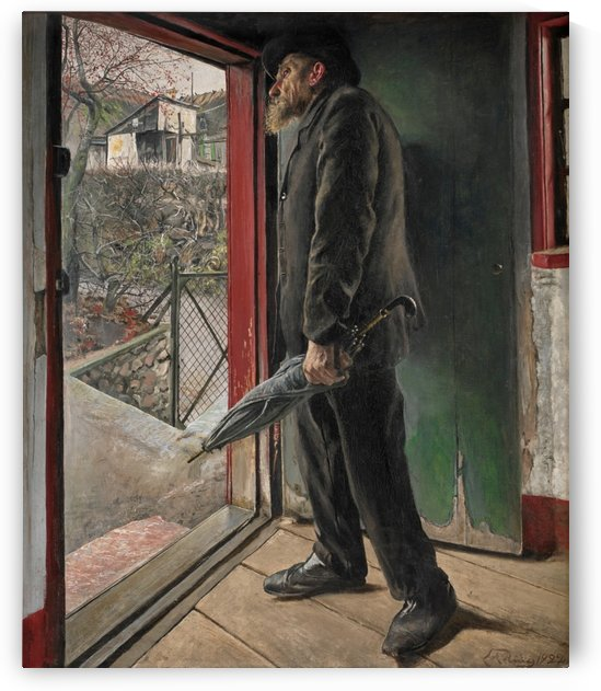 Waiting for someone by Laurits Andersen Ring