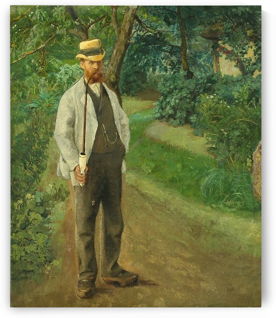 A Danish Man by Laurits Andersen Ring