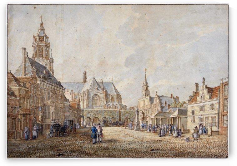 Grote Markt in Arnhem by Jan de Beijer