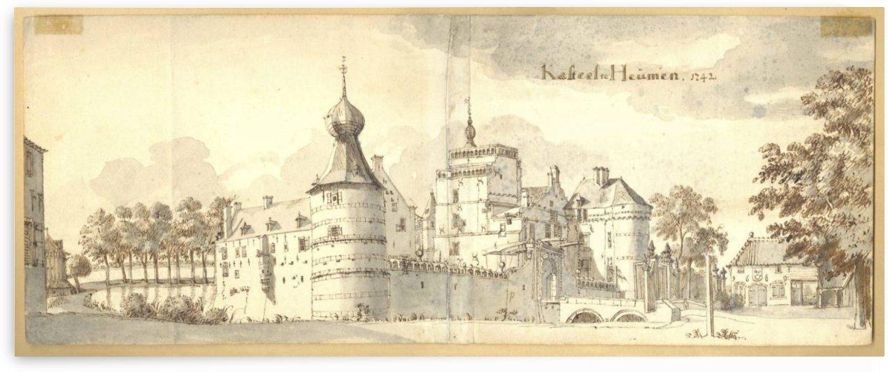Kasteel Heumen by Jan de Beijer