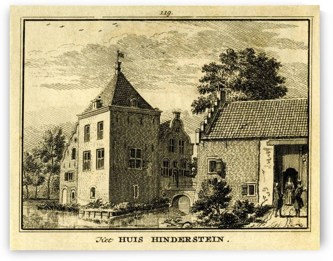 Huis Hinderstein by Jan de Beijer