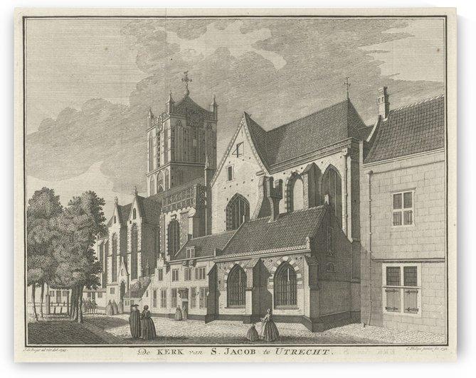 S.Jacob te Utrecht by Jan de Beijer