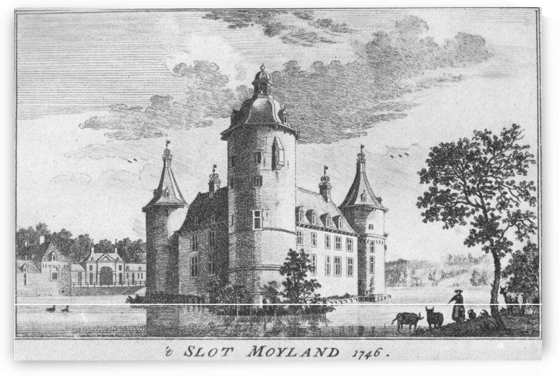 Slot Moyland 1746 by Jan de Beijer