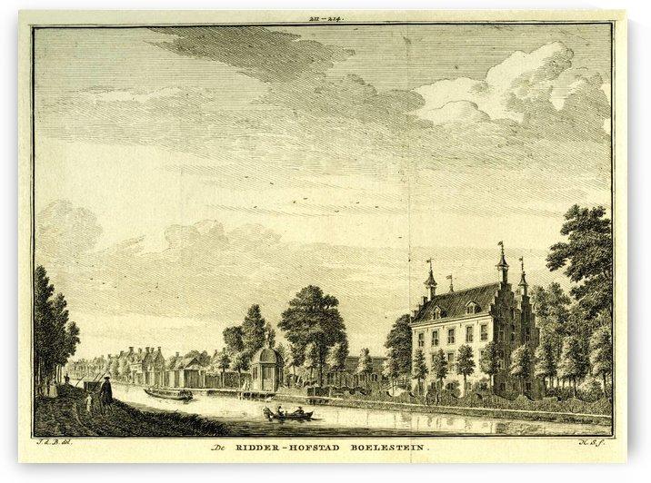 Ridderhofstad Boelestein by Jan de Beijer