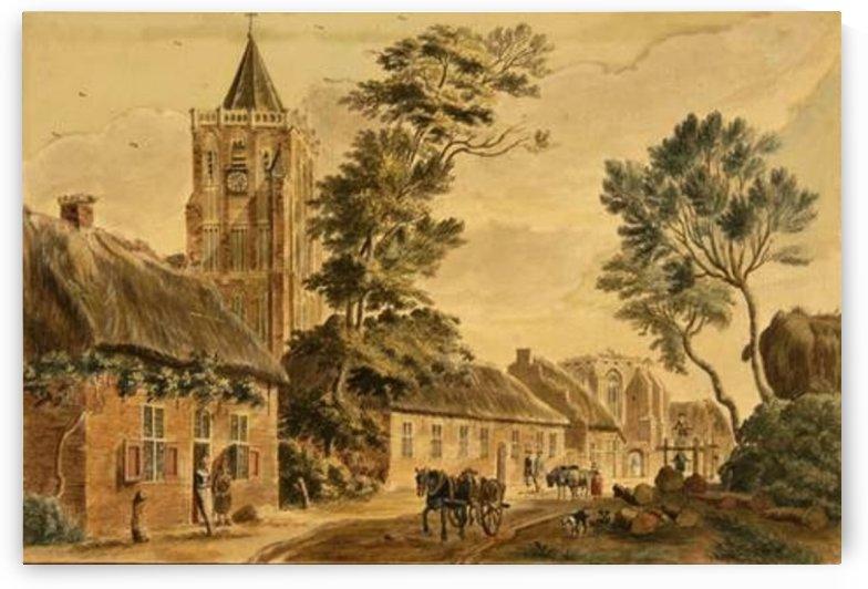 View of Sambeek by Jan de Beijer