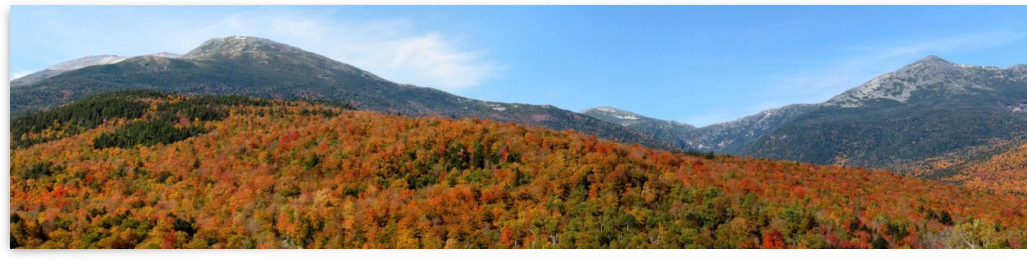 Presidential Range, New Hampshire, Oct. 3, 2013 by Doug McQuinn