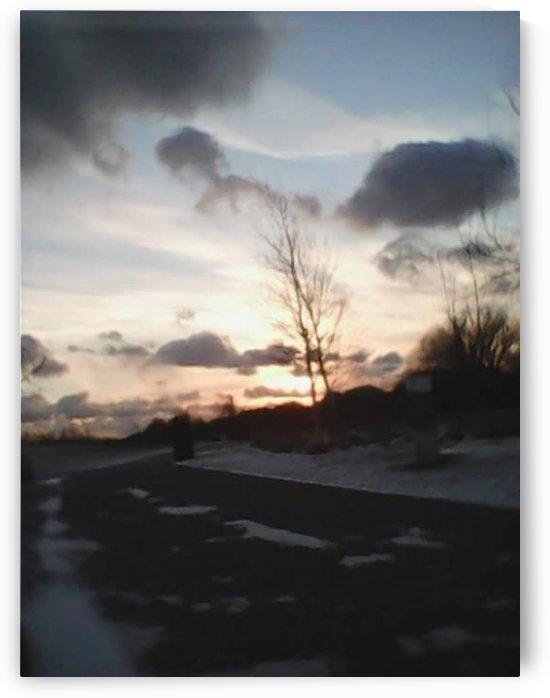 Winter Season at Lake Ontario by Kayathiri Vaithilingam