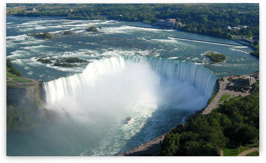 Horseshoe Falls, Niagara, Ontario, Sept. 21, 2005 by Doug McQuinn