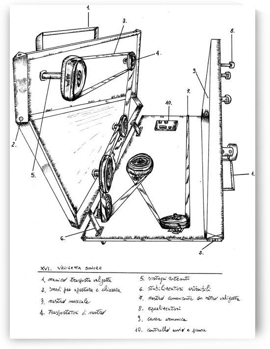 musical briefcase652 by Giuliano Sacchero
