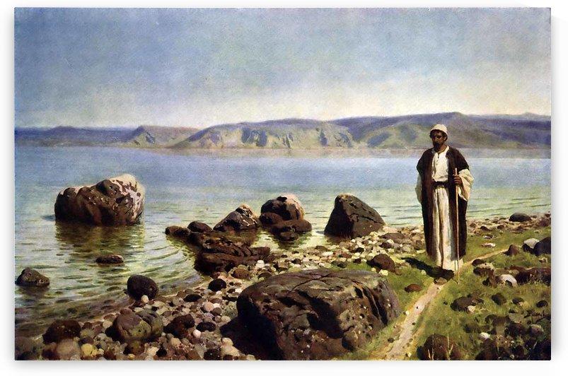 A shepherd by the seaside by Vasily Dmitrievich Polenov
