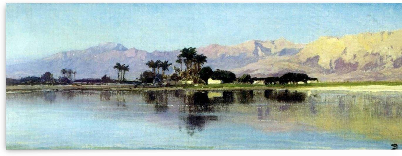 A distant island by Vasily Dmitrievich Polenov