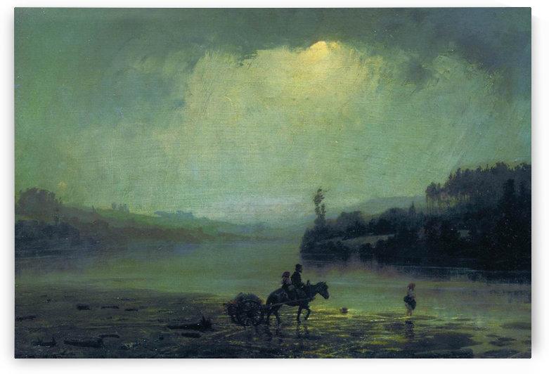 Downpour by Vasily Dmitrievich Polenov