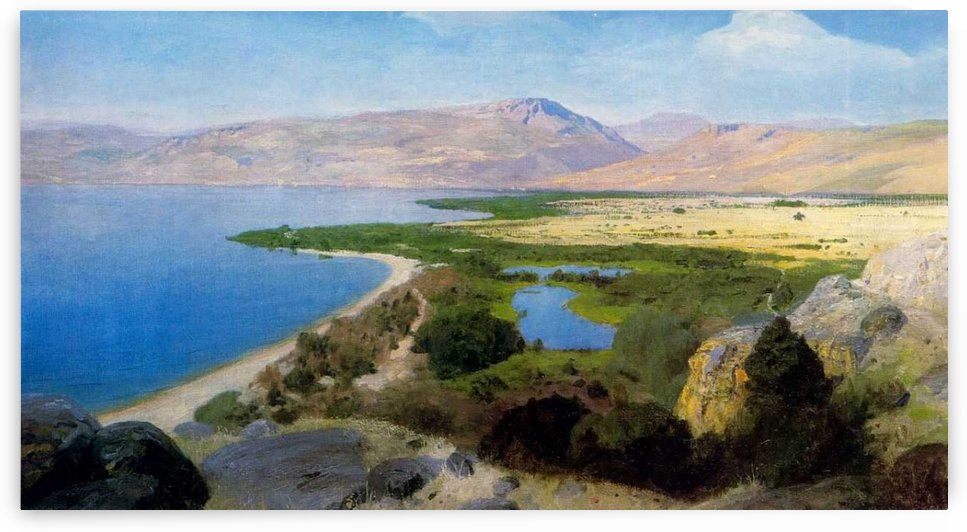 A view of the sea by Vasily Dmitrievich Polenov