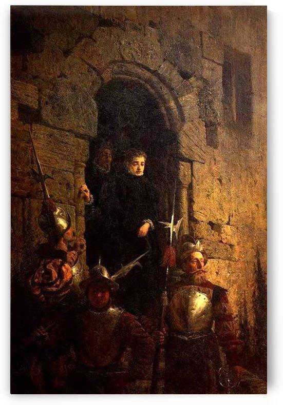 Clergy and the army by Vasily Dmitrievich Polenov