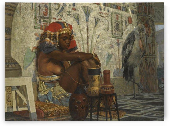 An egiptian woman by Vasily Dmitrievich Polenov