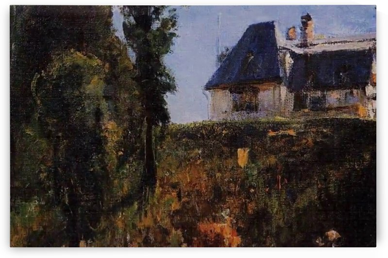 An old Russian house by Vasily Dmitrievich Polenov
