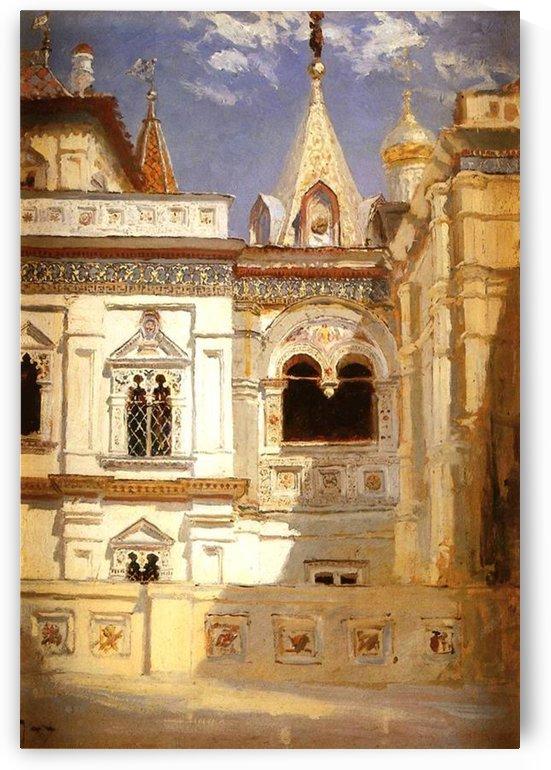 The Teremny palace by Vasily Dmitrievich Polenov