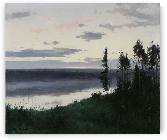 Trees by the sea by Vasily Dmitrievich Polenov