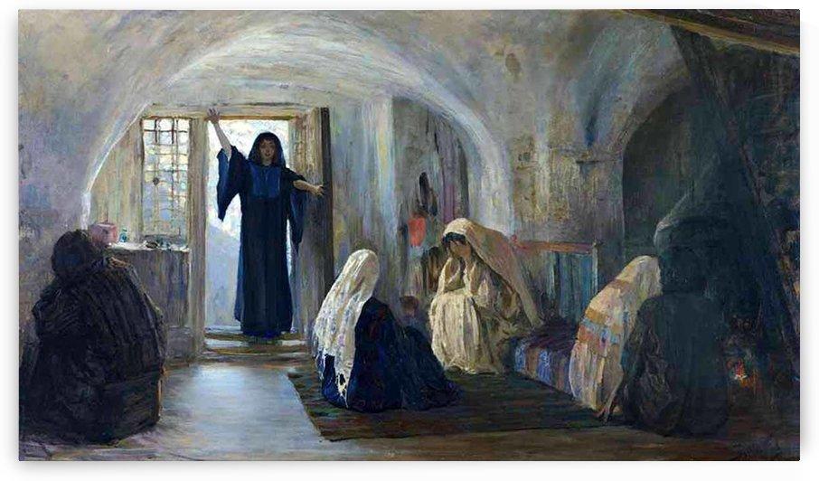 A gathering of women by Vasily Dmitrievich Polenov