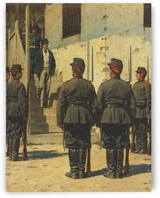 Waiting for the capitan by Vasily Dmitrievich Polenov