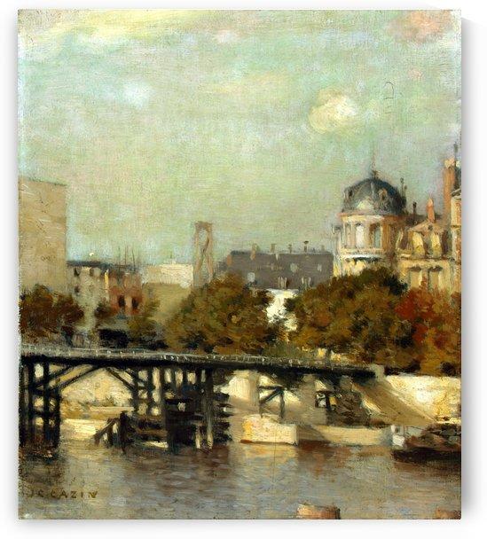 Paris scene by Jean-Charles Cazin