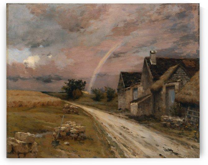 L'arc en ciel by Jean-Charles Cazin