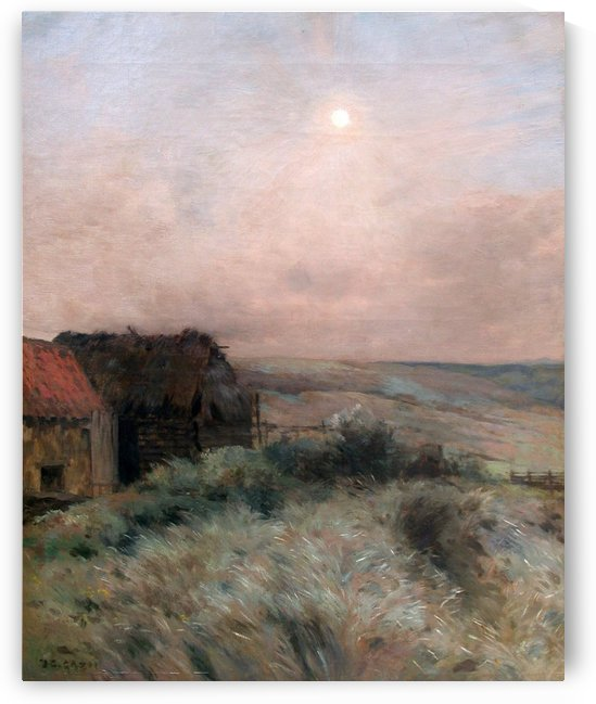 Cottagees by Jean-Charles Cazin