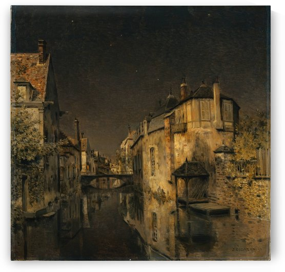 Minuit by Jean-Charles Cazin