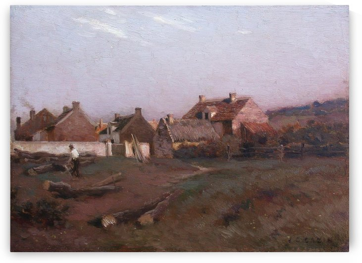 Paysage by Jean-Charles Cazin
