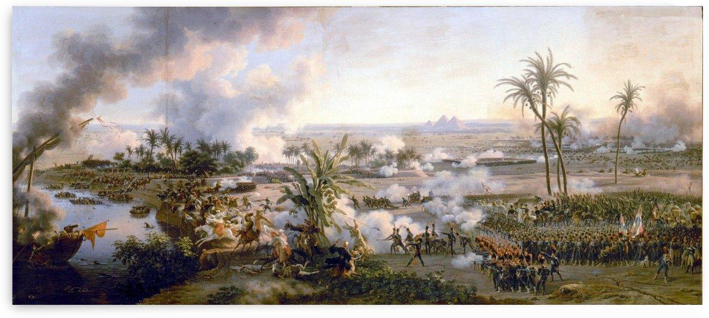 A battle field by Louis Francois Lejeune