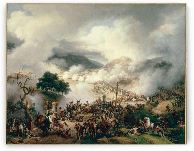 Bataille de Somo-Sierra en Castille by Louis Francois Lejeune