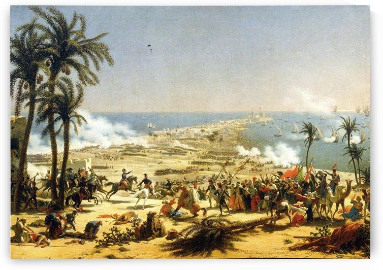 Bataille Daboukir by Louis Francois Lejeune
