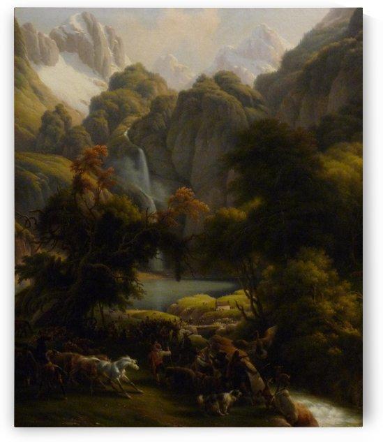 Le Chasse by Louis Francois Lejeune