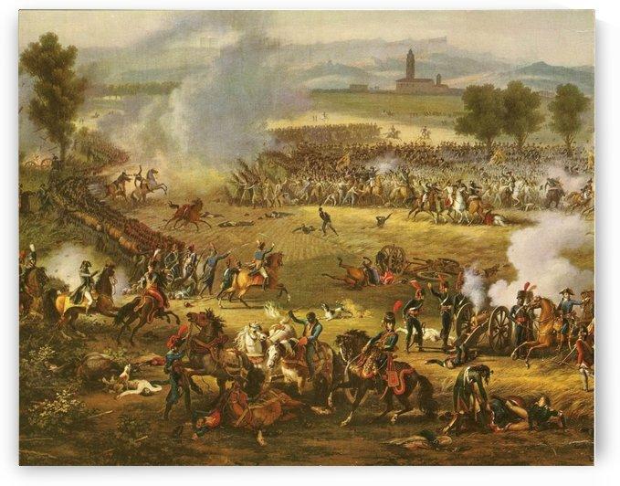 Bitva u Marenga by Louis Francois Lejeune