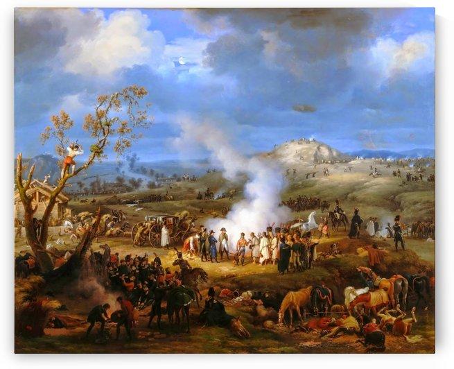 Bivouac near Austerlitz Napoleon by Louis Francois Lejeune