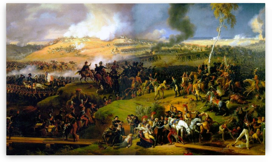 Battle of Borodino by Louis Francois Lejeune