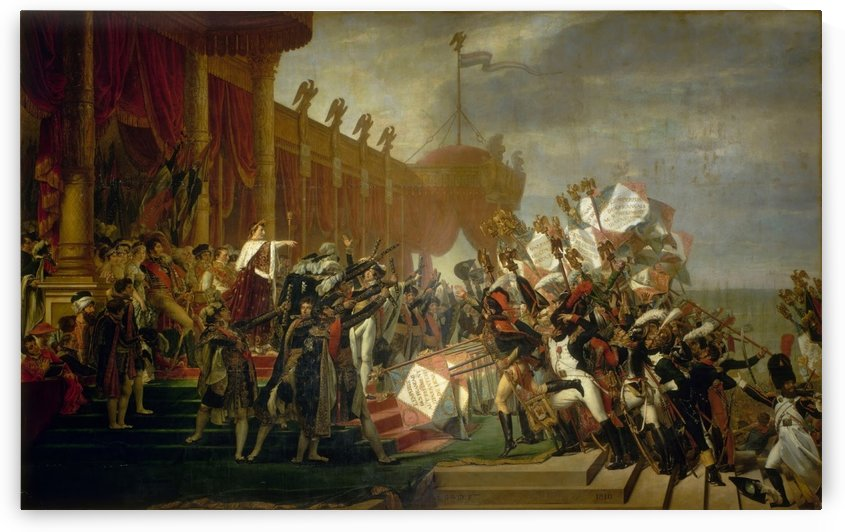The Army Takes an Oath to the Emperor by Louis Francois Lejeune