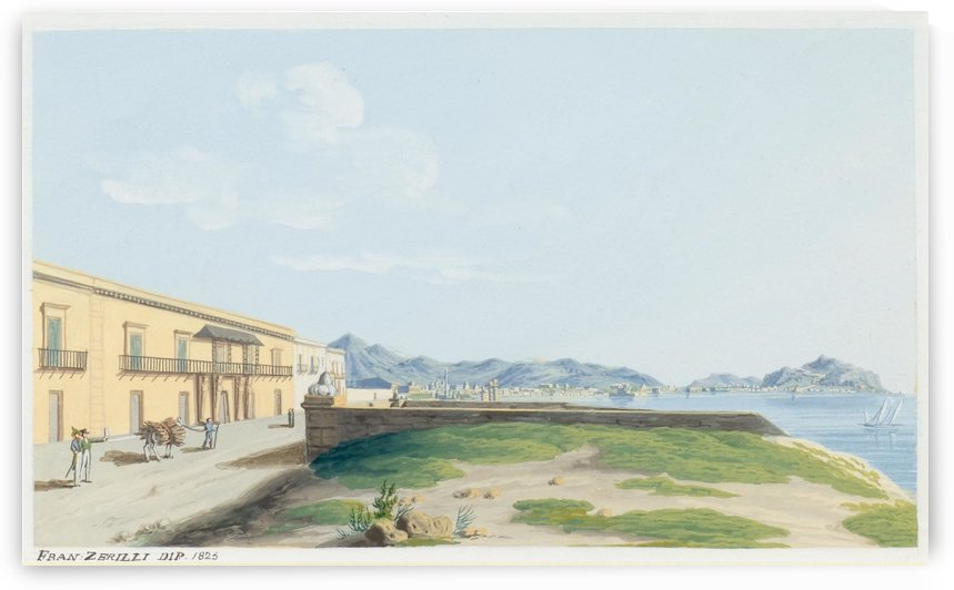 View of Palermo by Francesco Zerillo