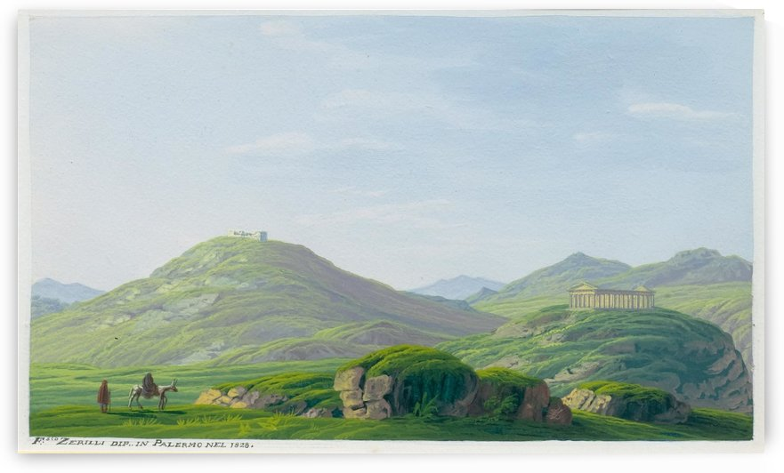 Segesta 1828 by Francesco Zerillo