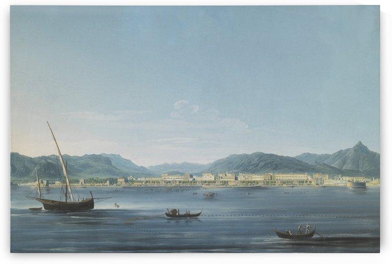 Three boats on the sea by Francesco Zerillo