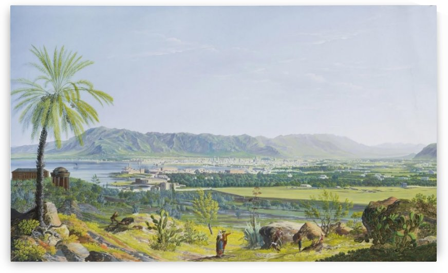 Landscape of Palermo by Francesco Zerillo