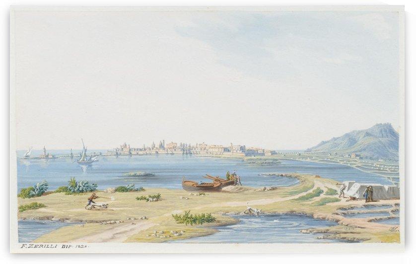 Trapani 1823 by Francesco Zerillo