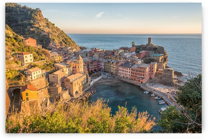Vernazza by Andrea Spallanzani