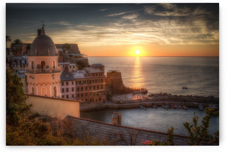 Sunset by Andrea Spallanzani