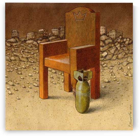 kingdom of destruction by Pawel Kuczynski